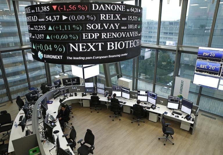 Europe Pushes Higher; Central Banks and Reopenings Eyed